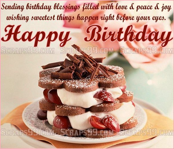 Birthday Wishes, Happy Birthday Greetings And
