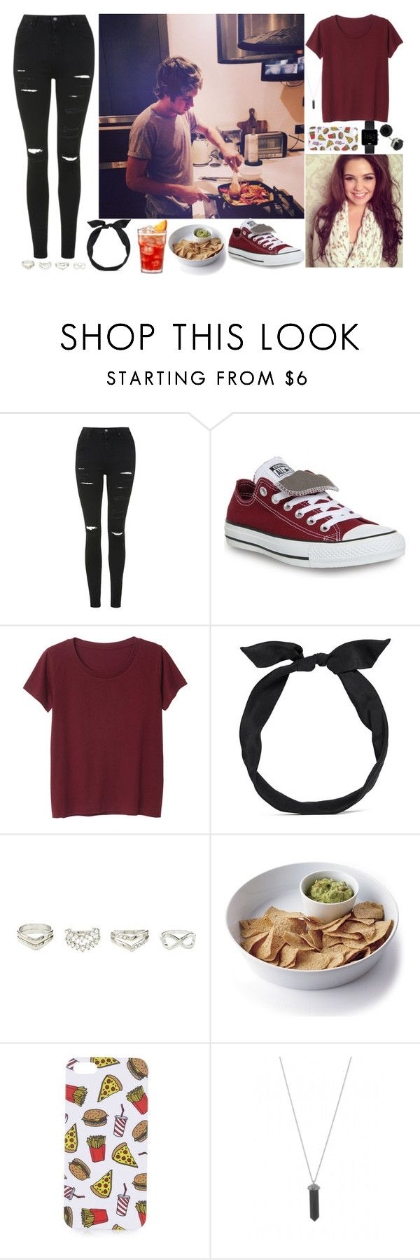 """Date In With Niall"" by mary-5so1ds ❤ liked on Polyvore featuring Topshop, Converse, Monki, yunotme, Charlotte Russe, Crate and Barrel, Braun, Karen Kane, OneDirection and NiallHoran"