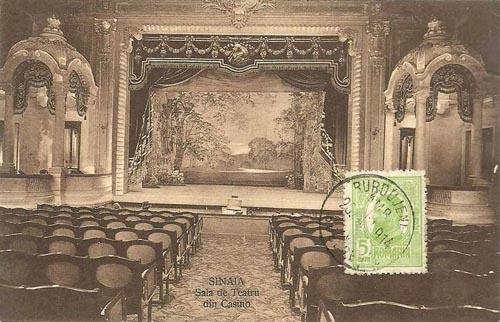 Sinaia - Casino Teatrul - 1914