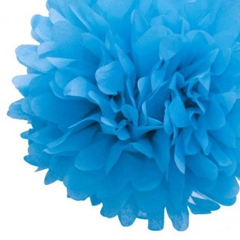 Tissue Paper Pom Pom  - photographs beautifully in little hands