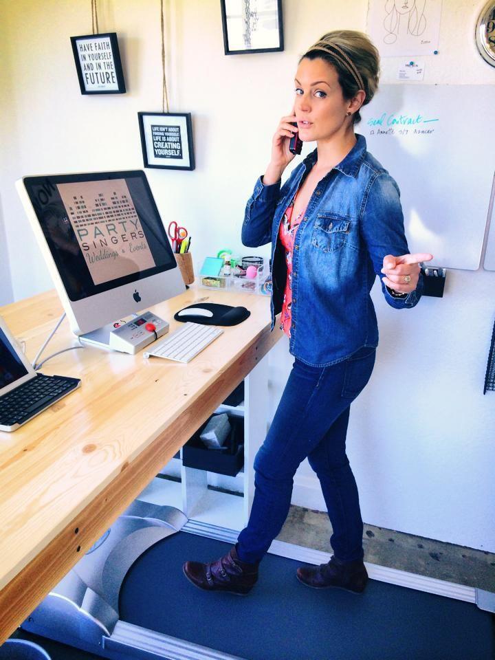 Julia Tobey, walking, talking and taking care of business. Feeling like a rockstar!