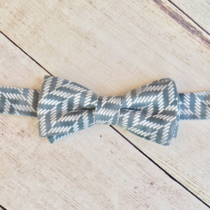 Baby Boy Bow Tie  Cadet Grey Gray Chevron Bow Tie   Cotton Bow Tie   Adjustable Strap Bow Tie   Boy Kid Bow Tie  Ring Bearer Bow Tie by SuperBowDesign on Etsy https://www.etsy.com/uk/listing/477526338/baby-boy-bow-tie-cadet-grey-gray-chevron