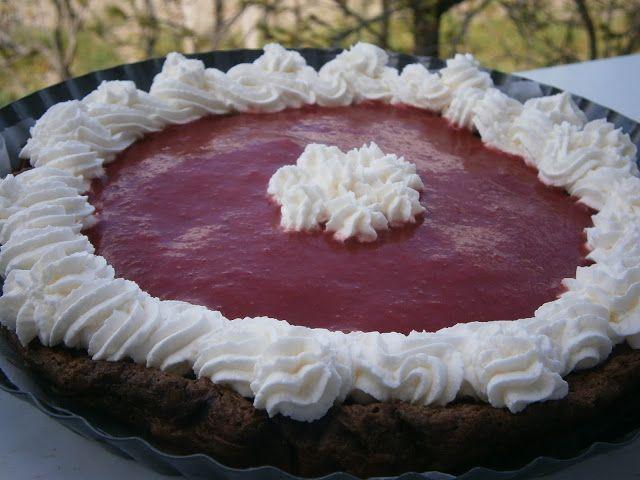 PečieMiTo:  Čokoládovy dezert s jahodovým pyréČokoládovo-koko...