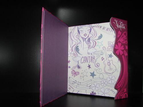 Agenda Diario Violetta Disney Original