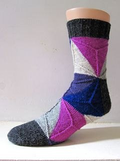 This pattern was designed for Tour de Sock 2013.