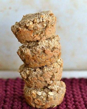 Super Easy Three Ingredient Healthy Muffins