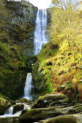 Pistyll Rhaeadr,  Llanrhaeadr-ym-Mochnant, Wales