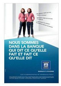 Campagne pub pour la Banque postale