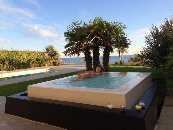 158 best Piscines images on Pinterest Pools, Backyard patio and - pompe a chaleur pour maison
