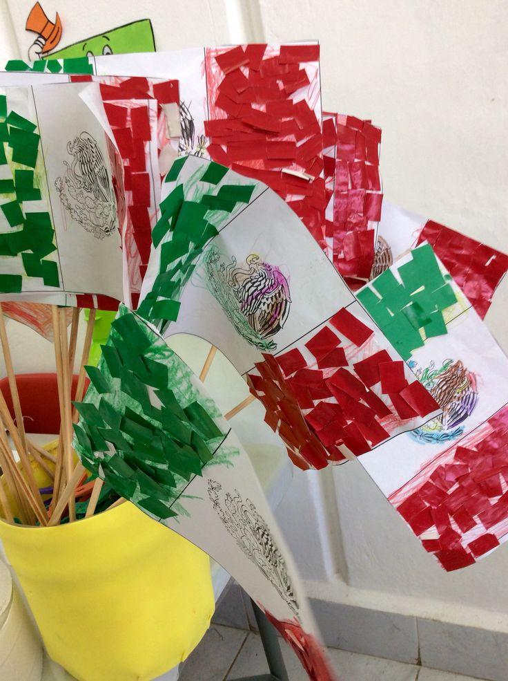 Día de la Bandera. México. Instituto Educativo Yits'atil, Preescolar. www.yitsatil.edu.mx