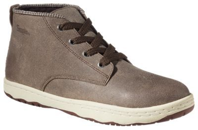 Simple Barney Leather Chukka Boots for Men - Dark Tan Outrage - 10.5M