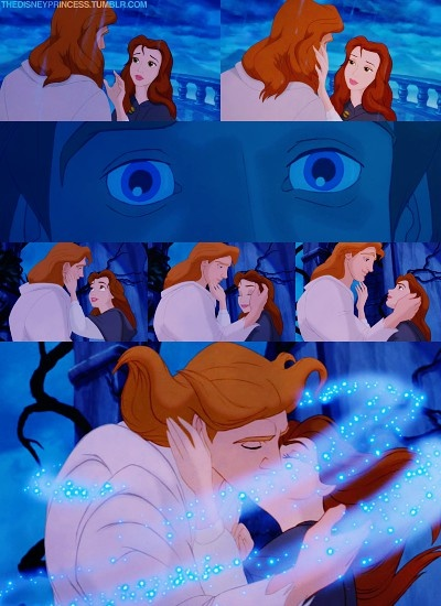 Day 14 Of The 30 Disney Challenge Favorite Kiss Belle And Adam