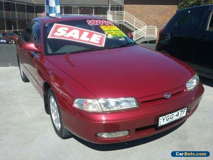 1993 Mazda 626 Maroon Automatic 4sp A Sedan #mazda #626 #forsale #australia