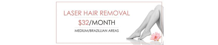 Laser Hair Removal only $32/month at Spa Trouve for Medium Areas (Brazillian/Half Back). Prices that fit every budget. Smooth, beautiful results.