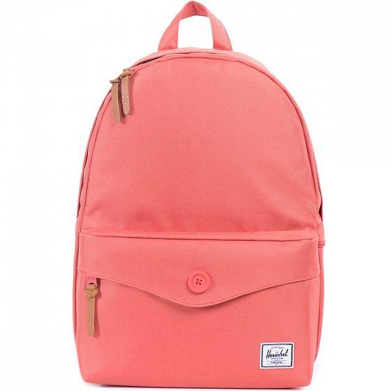 Компактный городской рюкзак с фронтальным карманом на кнопке для необходимых мелочей. Удобный и продуманный, с отсеком под 13-дюймовый ноутбук, этот рюкзак станет верным компаньоном в городских приключениях.