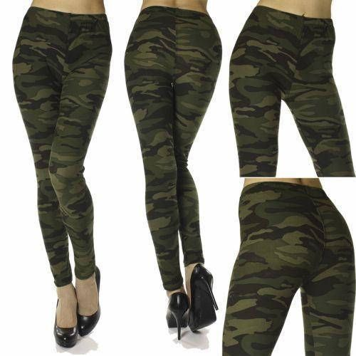Camouflage Print  Leggings  Super Soft Spandex , CAMO Print Leggings & Women's Clothing*  Women's Bottoms  Super Sexy and Comfortable