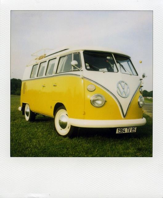 """VW combi """"hippie van"""""""