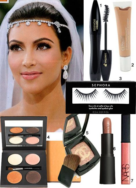 kim kardashian wedding photos | Get Kim Kardashian's Wedding Makeup | Lanalennox's Blog
