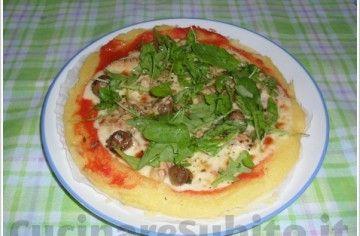 Pizza di Polenta - Chef ASDOMAR
