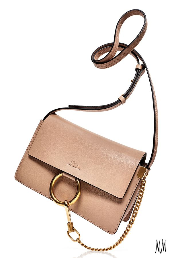 Nothing beats a neutral shoulder bag by Chloe. Sport yours like a street-style star with a monochrome ensemble and leather booties.
