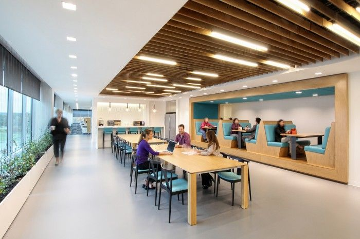 Gensler has developed a new North American headquarters for global healthcare company Bayer which is located in Whippany, New Jersey.