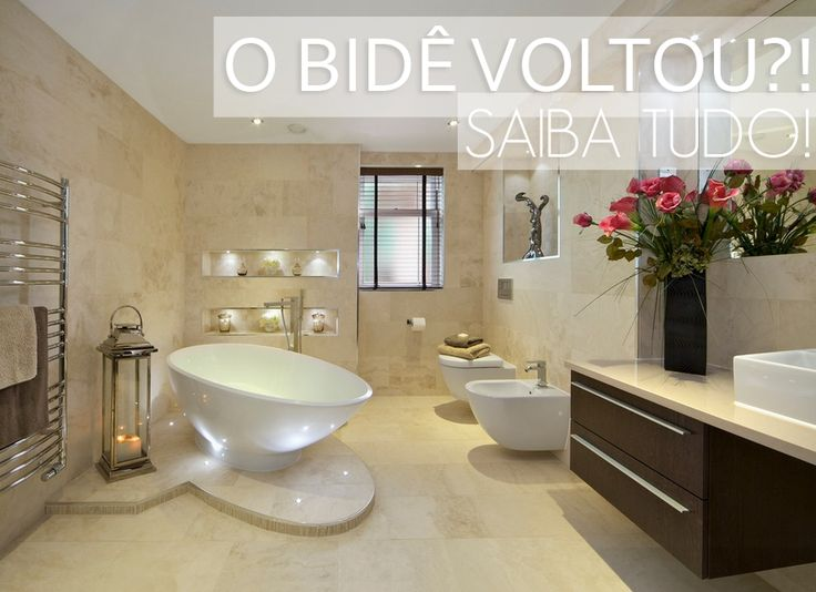 O bidê voltou à moda?! Qual é melhor: os novos bidês ou ducha higiênica? Saiba tudo!