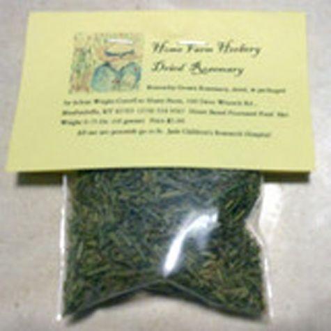 Dried Rosemary 1 oz sampler to 50 lb bulk. Order