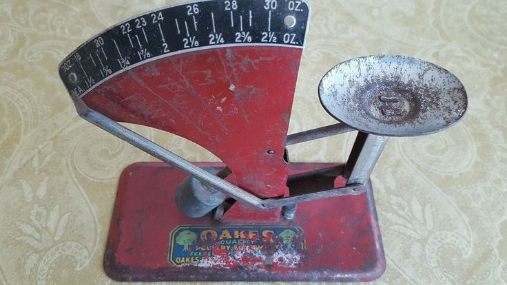 Vintage Oakes Egg Scale Oakes Mfg.Co. Quality Poultry Equipment, Tipton, Ind.  #OakesMfgCoTiptonInd