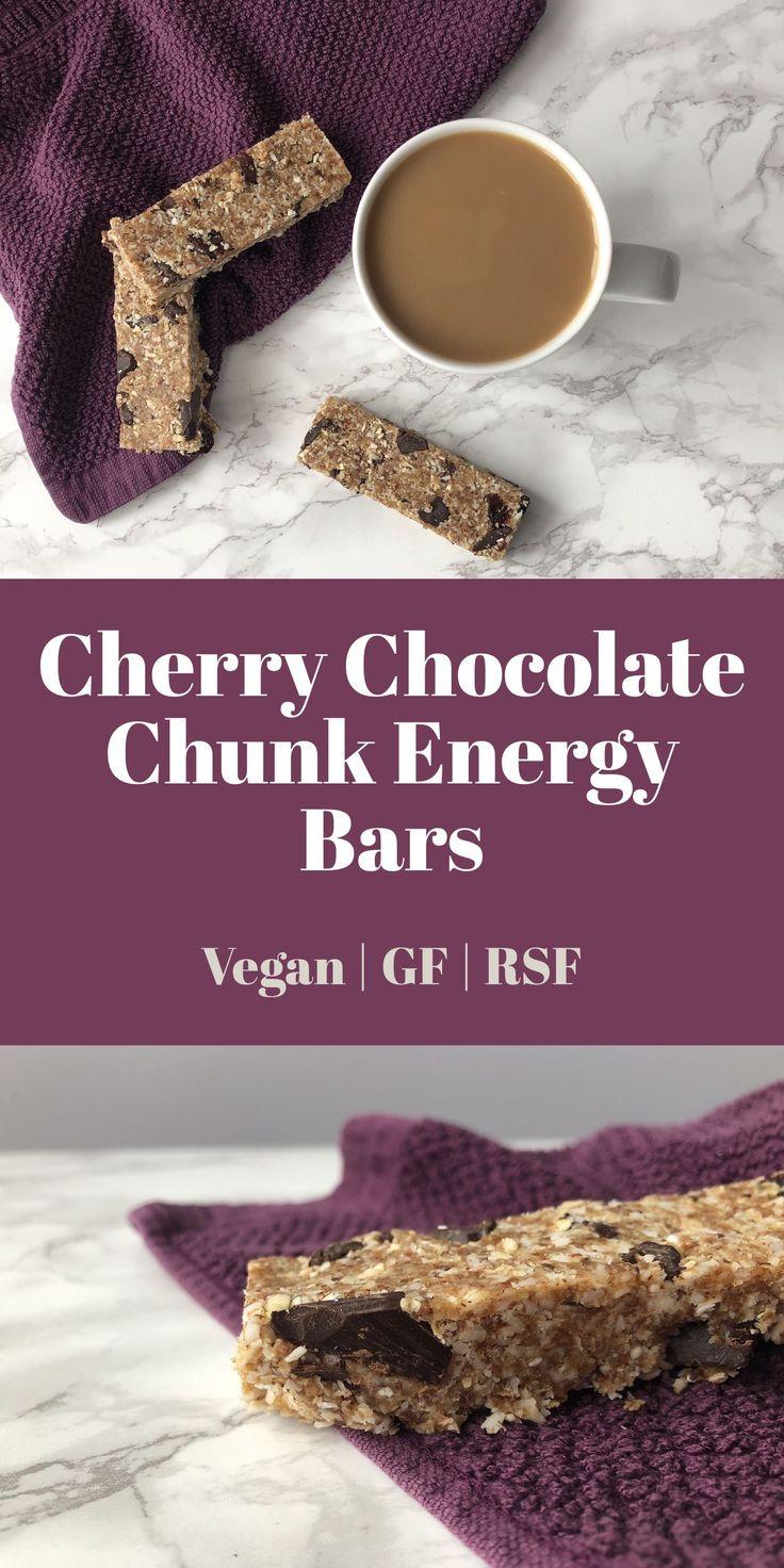 Cherry Chocolate Chunk Energy Bars