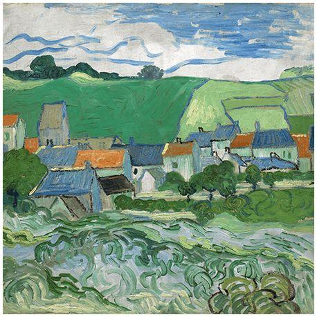 Reprodukcje obrazów Vincent van Gogh View of Auvers - Fedkolor