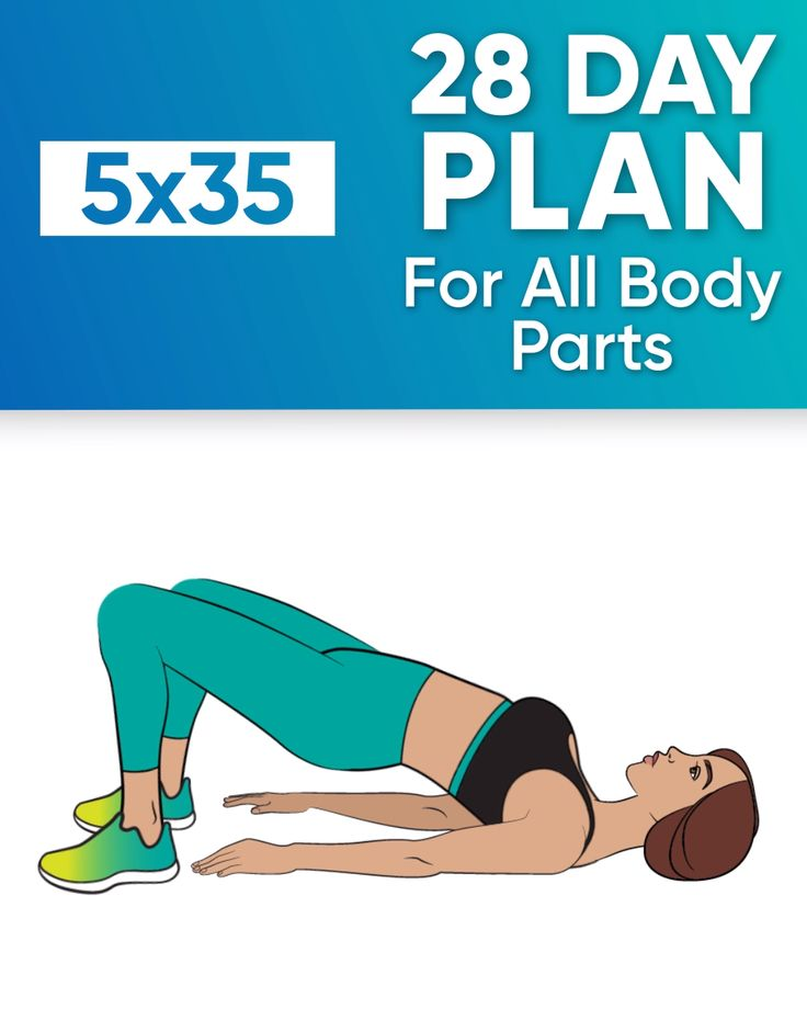28-Day Plan for All Body Parts