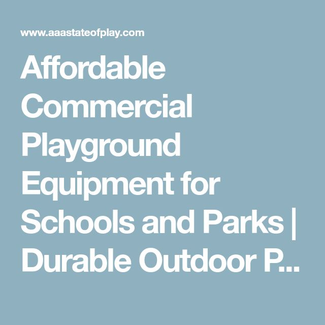 Affordable Commercial Playground Equipment for Schools and Parks | Durable Outdoor Play Equipment | Get a Free Quote Now