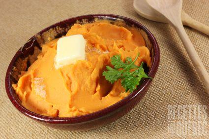 Purée de Butternut et patates douces #recettesduqc #legume #accmpagnement