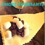 Smore croissants. Crescent rolls + chocolate chips + mini marshmallows = smores!