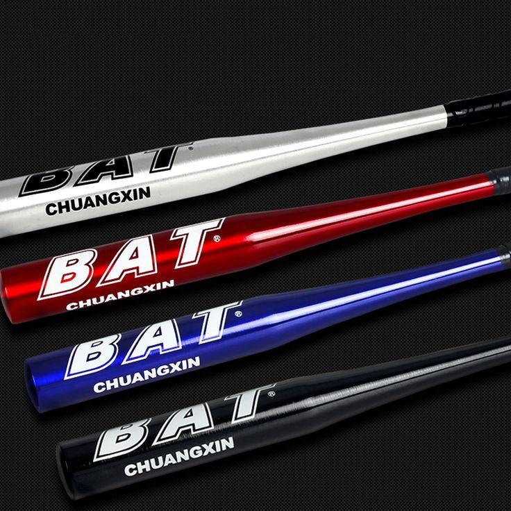 High Strenght Training Softball Baseball Bat Stick Aluminum Baseball Bat Hard Ball 25 28 30 32 inch Black Silvery Blue Red