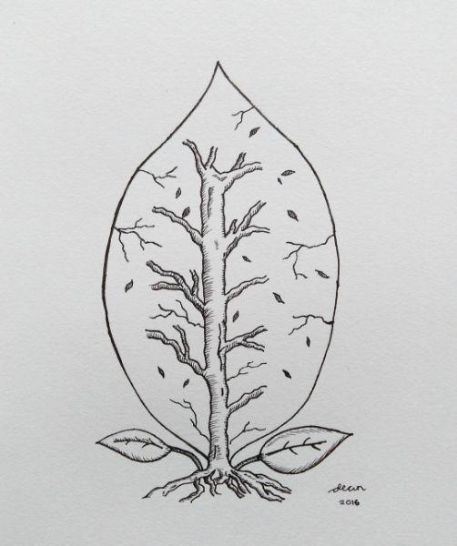 Illustration - The Leaf