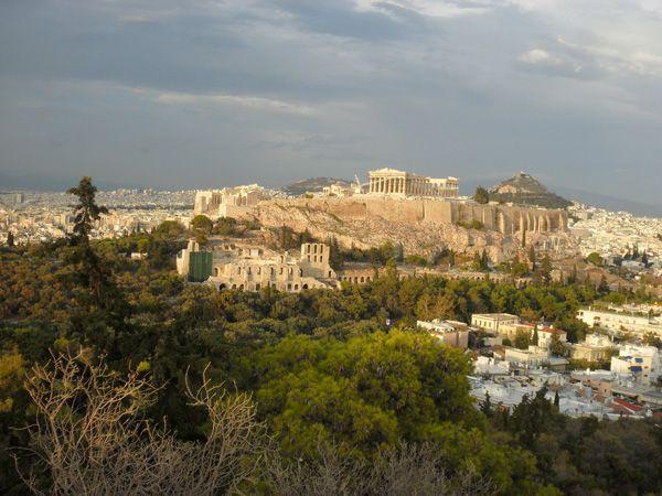 Akropolis, Athen, Philopappos