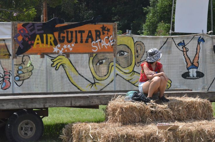 Air Guitar stage at Falls Festival Byron Bay:)