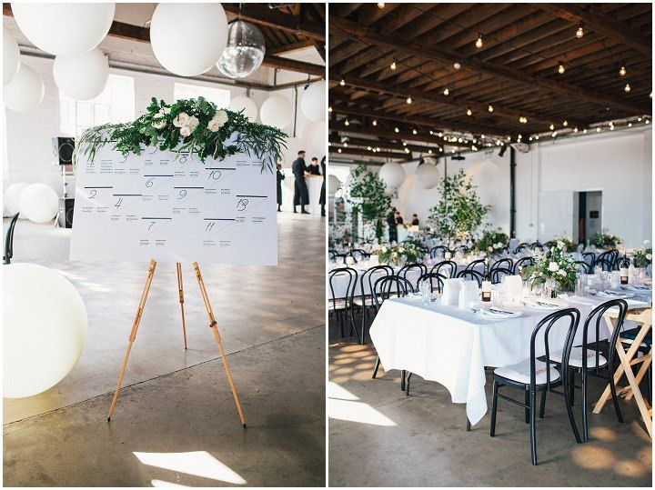Holly and David's Modern White London Wedding By Emma Lucy Photography