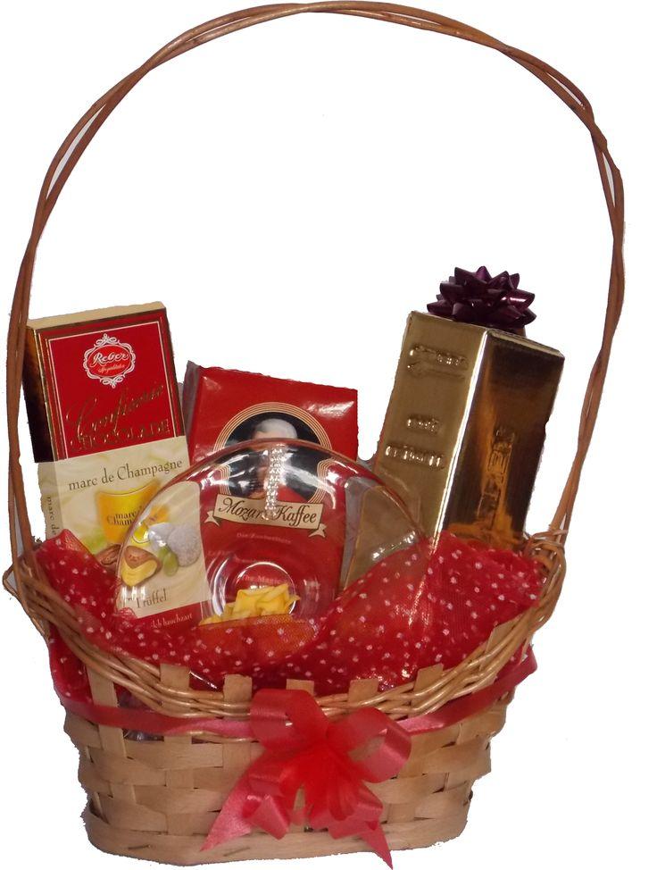 Cos cadou Mozart& Cristal www.venellagift.ro
