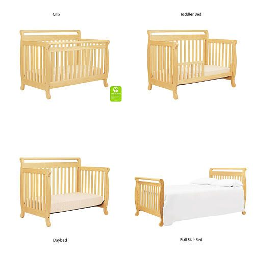 Make each wink of sleep a safe one, year after year. DaVinci bestselling Emily Crib meets or surpasses the latest safety standards and every crib undergoes individual inspection. With four mattress levels and a range of conversions, it's simple to maintain a reliable, age-appropriate sleeping space.<br><br>The DaVinci Emily 4-in-1 Convertible Crib - Natural Features:<br><ul><li>JPMA certified</li><br><li>Meets ASTM international and U.S. CPSC safety standards</li><br><li>Greenguard Gold…