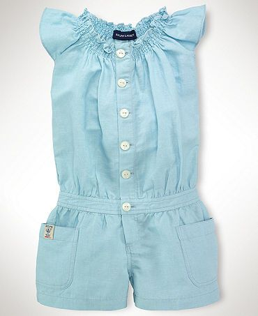 Ralph Lauren Kids Romper, Little Girl Smocked Romper …