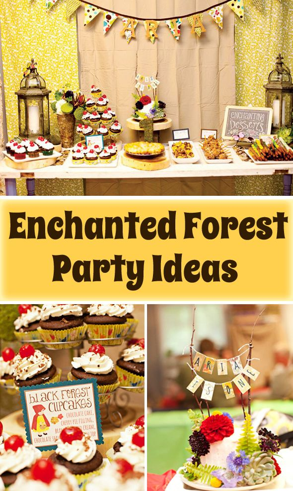 Birthday Cake Ideas Enchanted Forest Theme : 24 Best images about Enchanted Forest Exploration on Pinterest