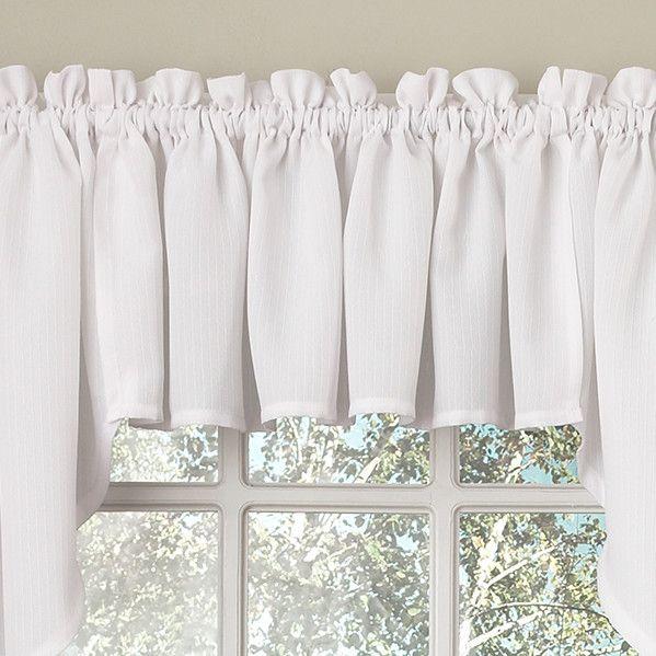Opaque Ribcord Swag 27 Curtain Valance Curtain Valances Curtains And Valances