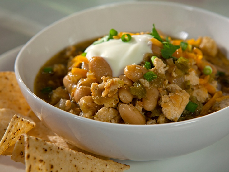 Chicken and White Bean Chili from CookingChannelTV.com