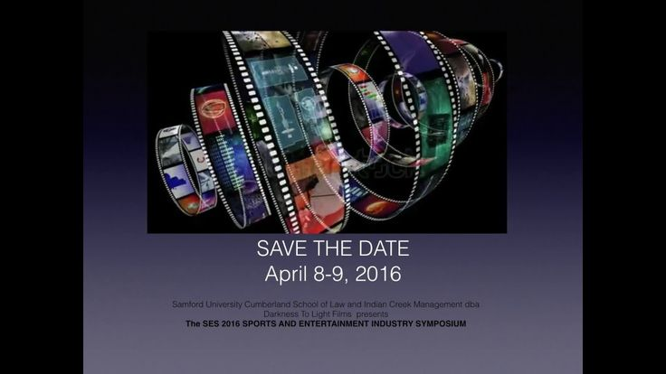SES 2016 SPORTS AND ENTERTAINMENT INDUSTRY SYMPOSIUM