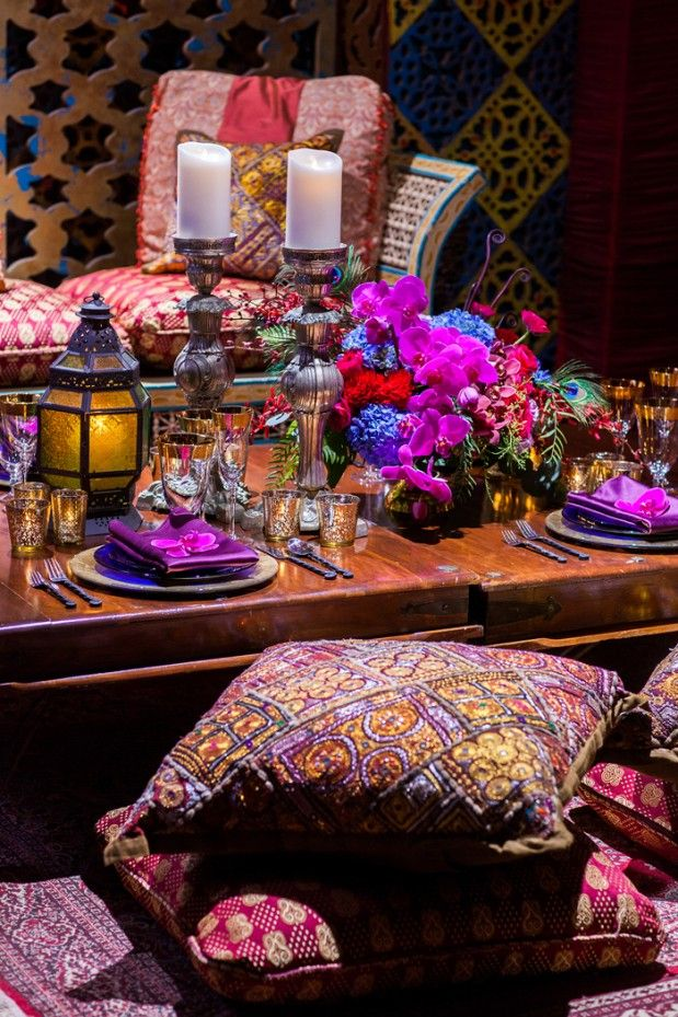 41 best images about party ideas on pinterest mini for Arabian wedding decoration ideas