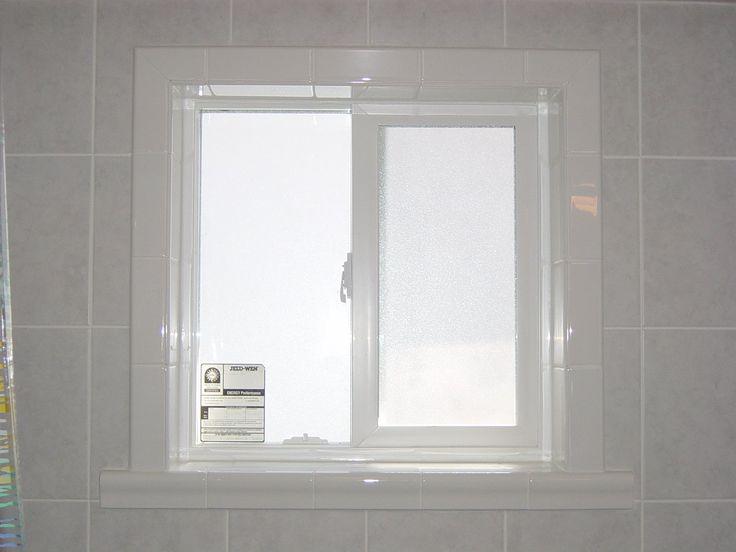This must lead to an article about waterproofing. Shower Window Waterproof Bathroom