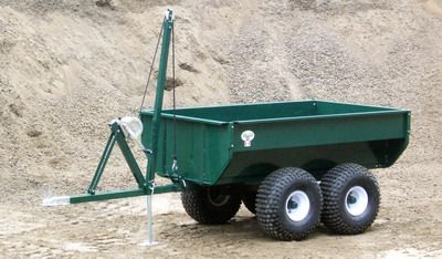 Dump and winch trailer for the ATV once I get it.