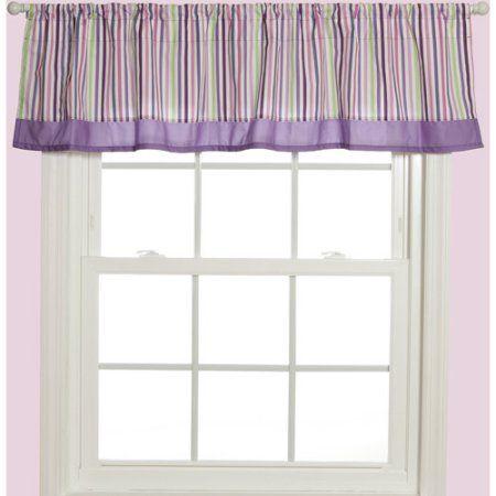 Baby Boom Window Valance, Pink Mosaic